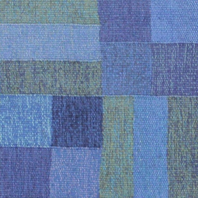 Vintage Scandinavian rug, Sweden, circa mid-20th century. Here is a comely vintage Scandinavian rug, a vintage Swedish...
