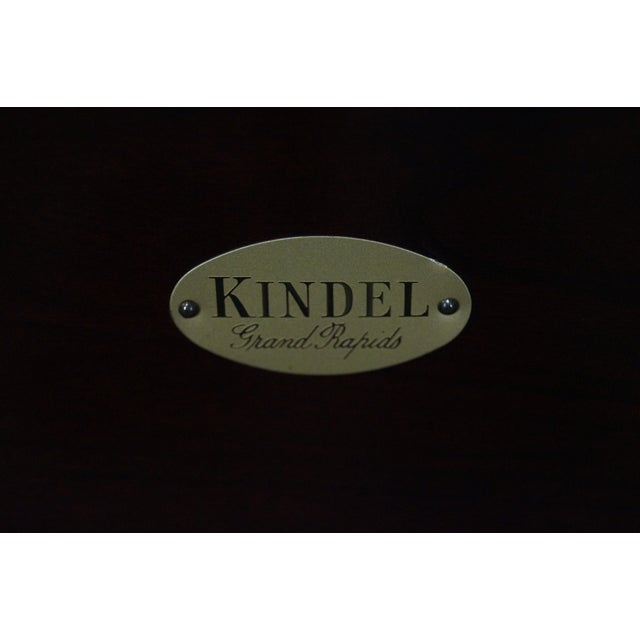 Kindel Queen Size Cherry Poster Canopy Bed - Image 5 of 10