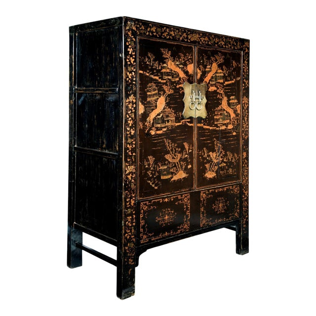 19th Century Chinoisere Cabinet For Sale