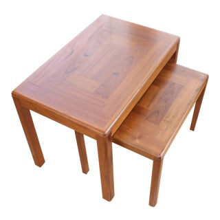 Vejle Stole Mobelfabrik Danish Nesting Tables For Sale