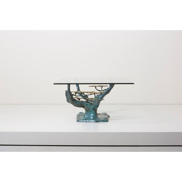 Brass Bonsai Tree Coffee or Side Table in the Manner of Willy Daro For Sale - Image 12 of 13