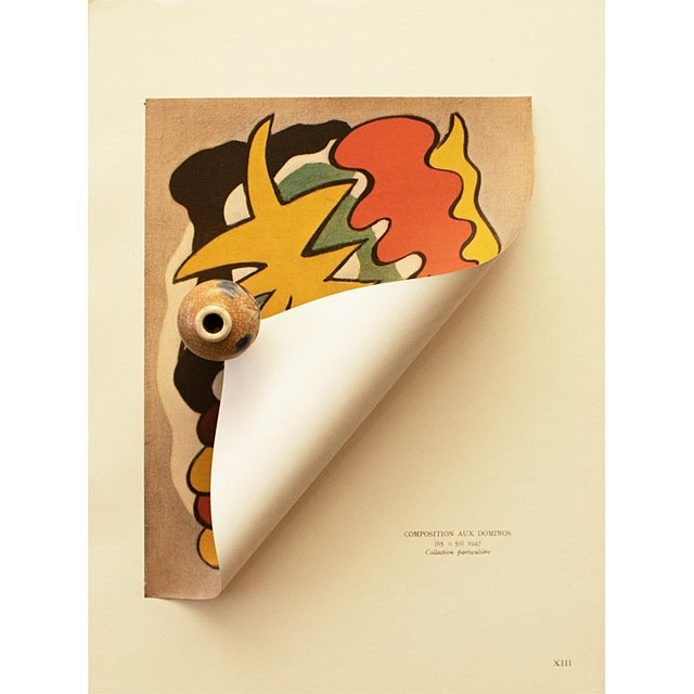 """Pop Art 1948 Fernand Léger """"Dominoes Composition"""", First Edition Period Parisian Lithograph For Sale - Image 3 of 8"""