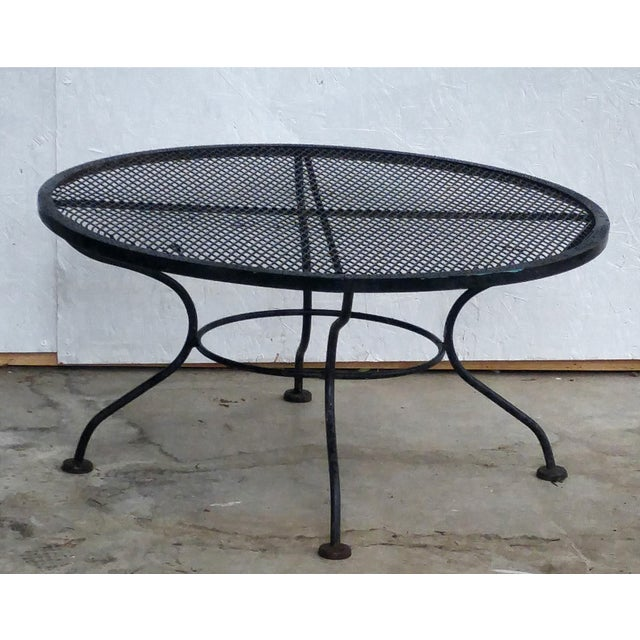 Woodard Vintage 1950s Sculptural Iron Coffee Table - Image 3 of 5