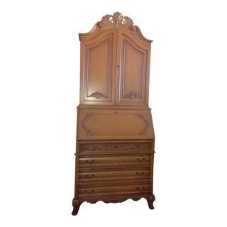 Wooden Secretary Desk For Sale