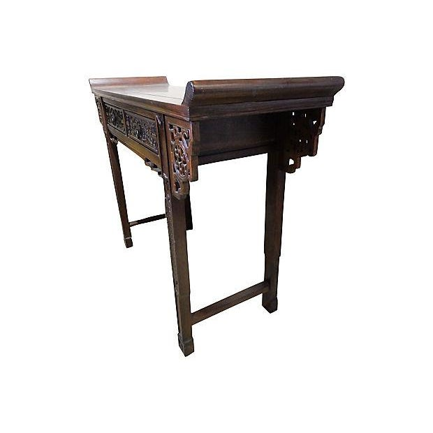 Cantonese console altar table chairish for Table 52 prices