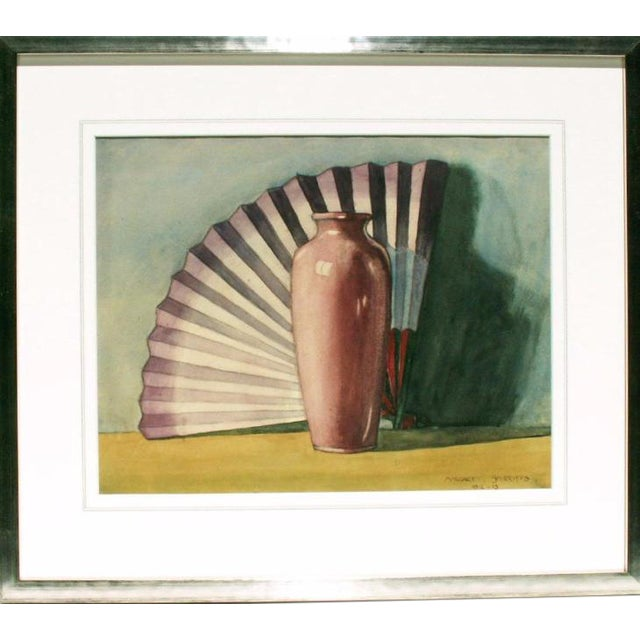 Art Deco Still Life by Margaret Shirriff For Sale