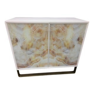 Century Contemporary Margot Door Cabinet Chest For Sale