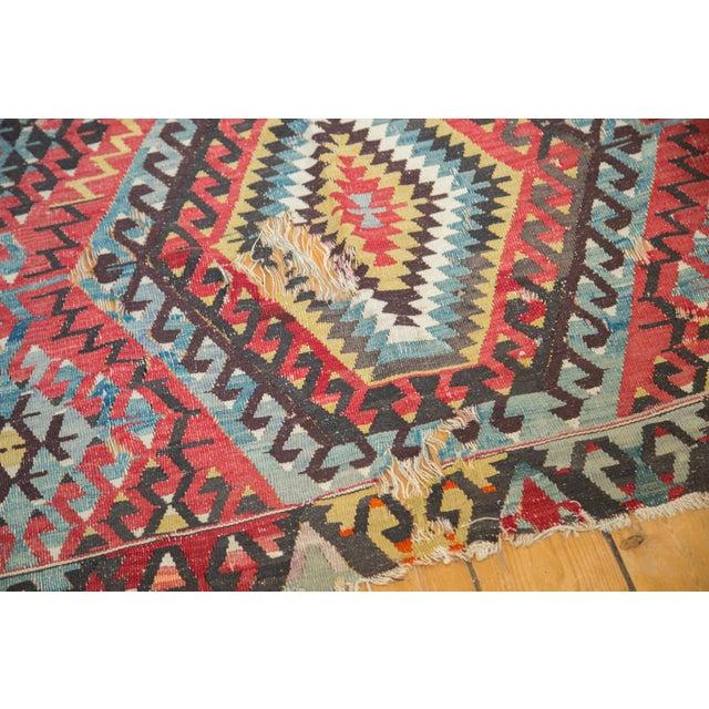 "Antique Kilim Carpet - 6'1"" x 9'1"" For Sale - Image 4 of 10"