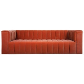 Image of Burnt Orange Standard Sofas
