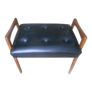Vintage Borje Johanson Design Mid-Century Modern Ottoman / Footstool