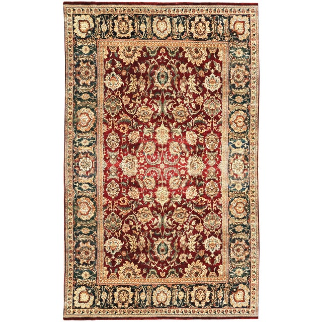 """Gallery Size Traditional Hand Woven Rug - 9'3"""" X 15'3"""" For Sale"""