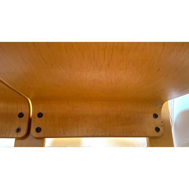 Canary Yellow 1960s Italian Modern Double Seat Bench For Sale - Image 8 of 11