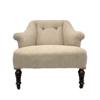 French Napoleon III Club Chair For Sale