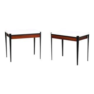 Osvaldo Borsani P68 Small Tables for Tecno For Sale