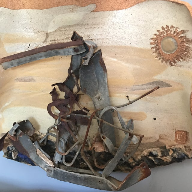 Mid-Century Mixed Media Abstract Sailing Sculpture - Image 5 of 9