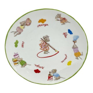 French Bernardaud Decorative Plate For Sale