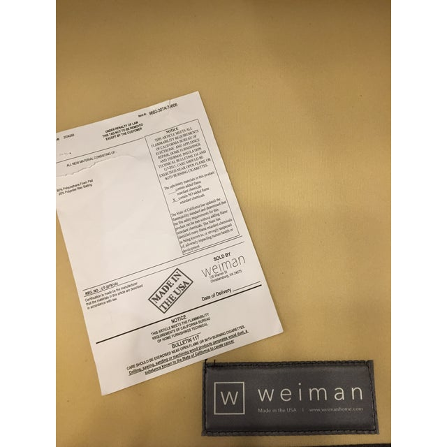 Weiman Home Miles Velvet Chair For Sale In Chicago - Image 6 of 9