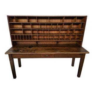 1940s Postal Storage Cabinet For Sale