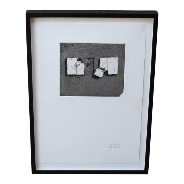 Architectural Etching by Arata Isozaki - Image 1 of 6
