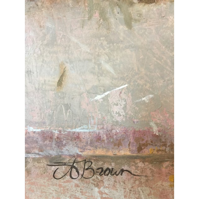 """Adra Brown Brown Contemporary Still Life """"Peace Piece"""" For Sale - Image 4 of 8"""