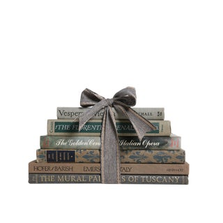 The Italian Gift Stack : Set of Six Decorative Books