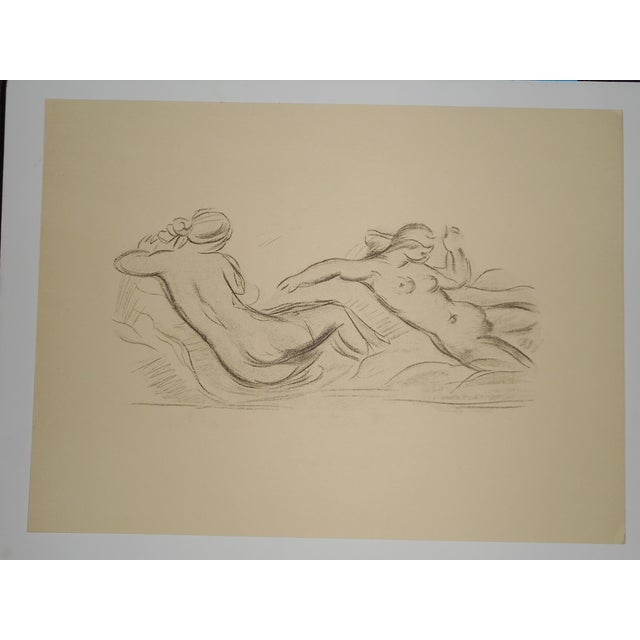 "Vintage Silkscreen Maillol ""Strange Nudes"" Folio - Image 2 of 4"
