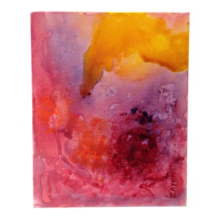 Seymour Zayon Abstract Oil Painting