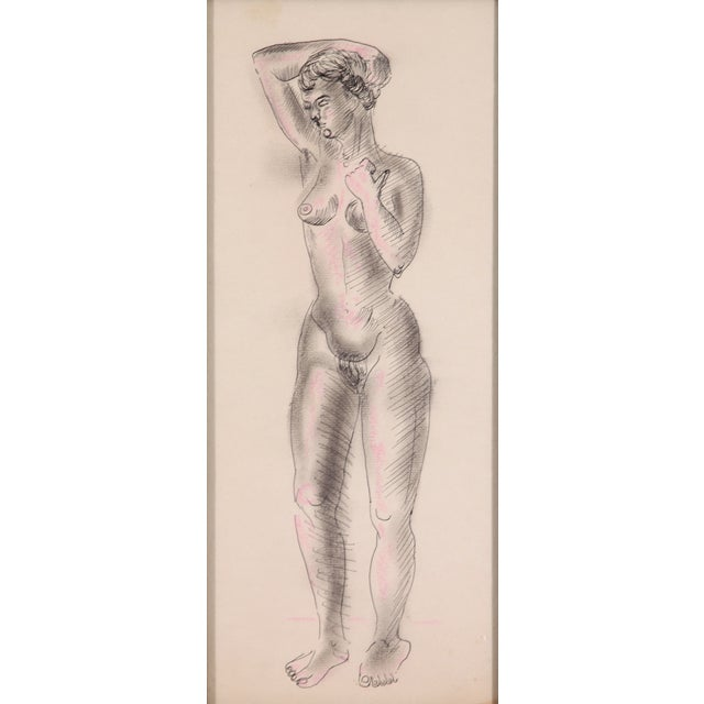 Nude Sketch - Image 2 of 5