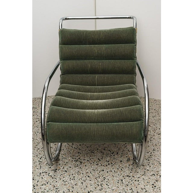Mies Van Der Rohe 1927 Design Style Lounge Chair - 5 Are Available Photos are of the one in our showroom - if you want...