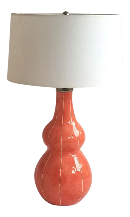Gourd Coral Table Lamp