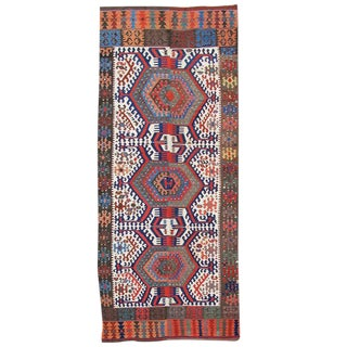 19th Century Turkish Kilim For Sale