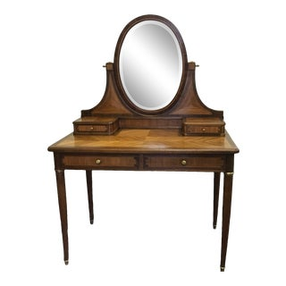 20th Century French Art Deco Vanity For Sale