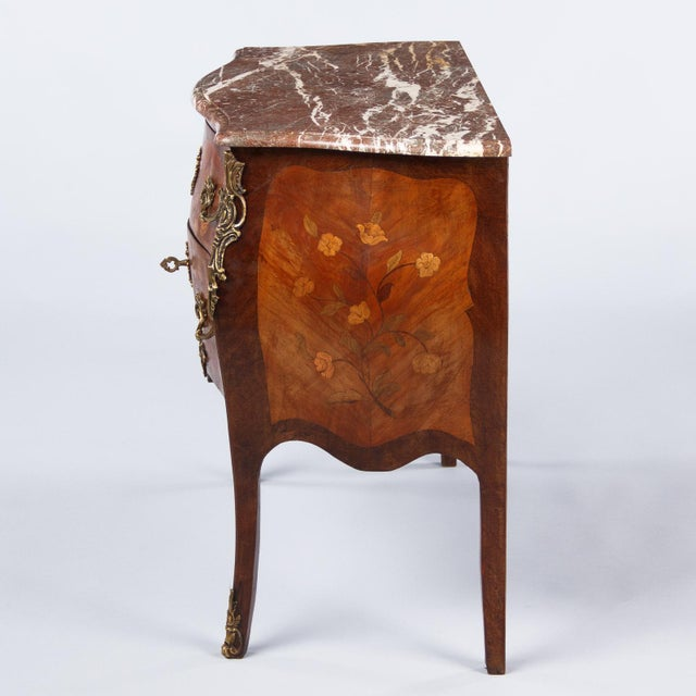 French Louis XV Style Two-Drawer Commode - Image 9 of 10