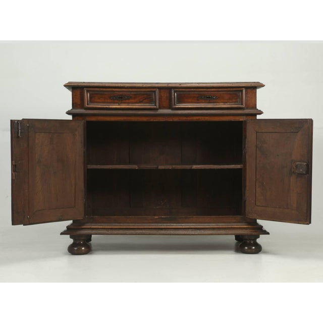 Antique French Louis XIII Style Buffet From the Mid-1700s For Sale - Image 9 of 10