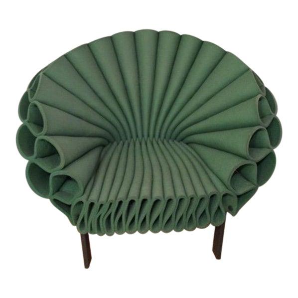Dror for Cappellini Italia Peacock Chair For Sale