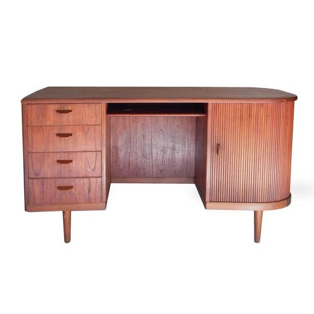 """Perfect Scandinavian """"Mad-Men"""" Desk - Image 3 of 10"""