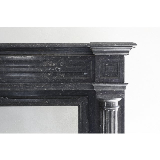 A special fireplace with many adaptations in the neoclassical style from the 19th century. The top has beautiful lines and...