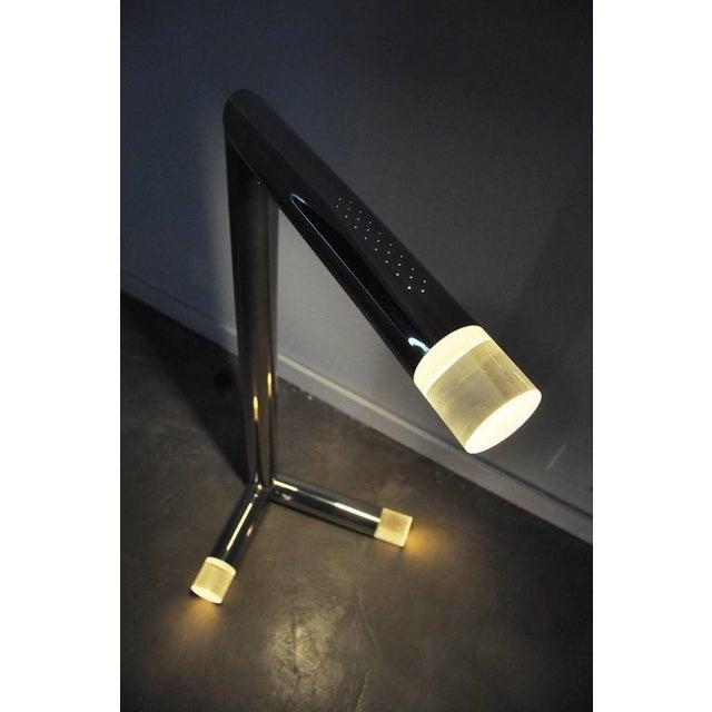 Mid-Century Modern Karl Springer Floor Lamp For Sale - Image 3 of 7