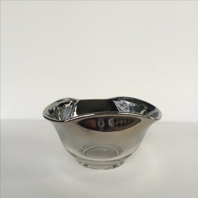 Silver Ombre Bowls- Set of 4 - Image 6 of 7
