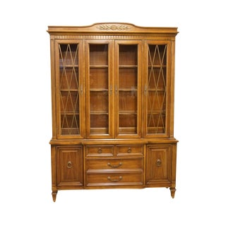 Late 20th Century Vintage Thomasville Furniture Bellini Collection China Cabinet For Sale
