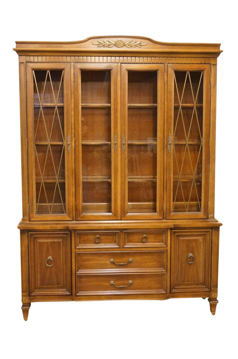 Exceptionnel Late 20th Century Vintage Thomasville Furniture Bellini Collection China  Cabinet | Chairish