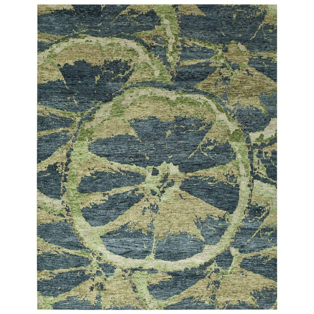 Contemporary Mandala Collection - Customizable Nile Rug (6x9) For Sale - Image 3 of 3