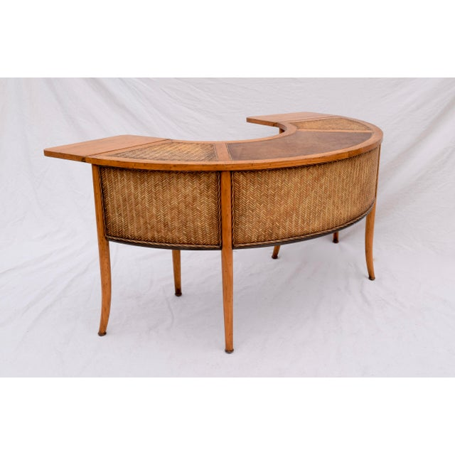 Demi Lune Cocktail/Hunt Table For Sale - Image 4 of 13