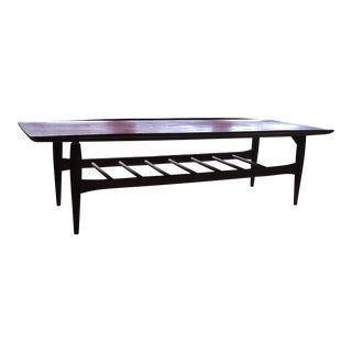 Bassett Mid-Century Danish Modern Surf Table