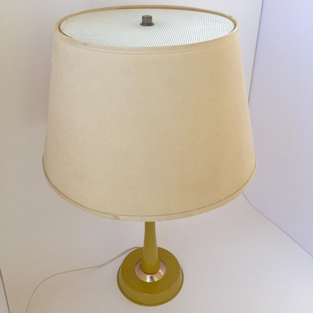 Gerald Thurston Table Lamp in Mustard - Image 6 of 9