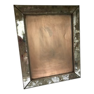 Aged Mirror Wall Frame For Sale