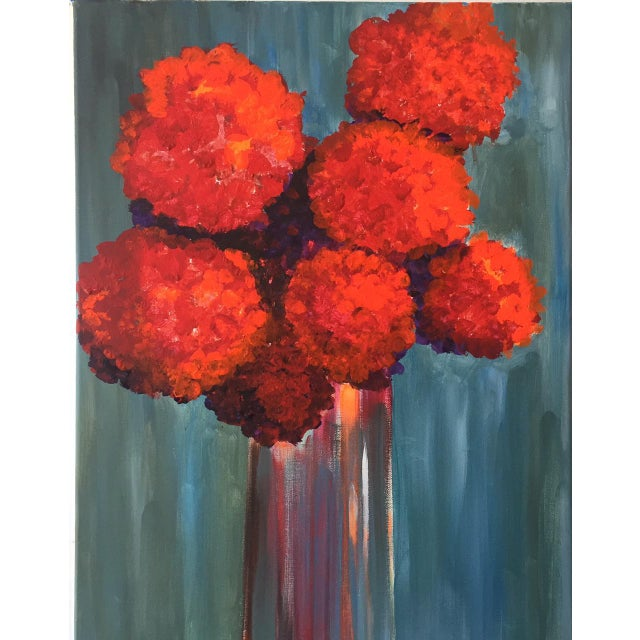 """""""All About Red"""" Painting - Image 3 of 3"""