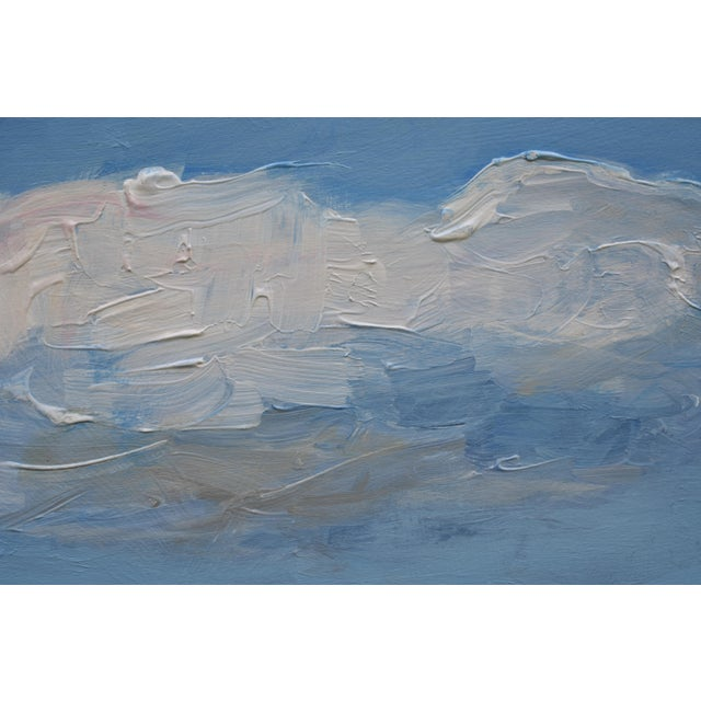 Stephen Remick Small Cloud Study Hover Contemporary Painting by Stephen Remick For Sale - Image 4 of 8
