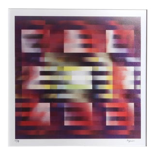 Nine Squares Agamograph by Yaacov Agam For Sale