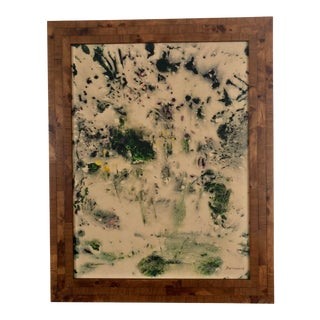 1970s Organic Modern Abstract Painting For Sale